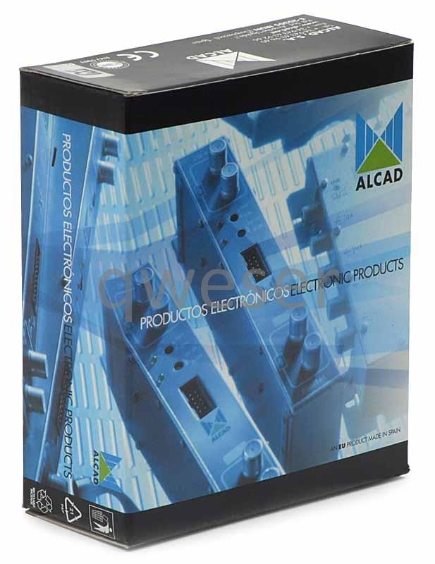 Broadband Amplifier: Alcad AI-200.